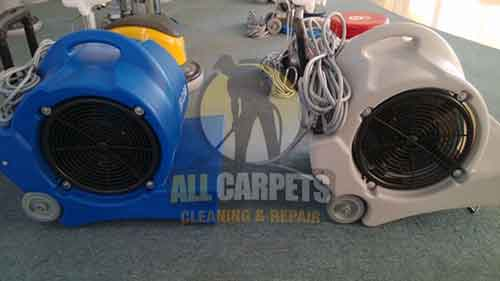 Mandurah electric 3 speed floor carpet dryer cold air blower